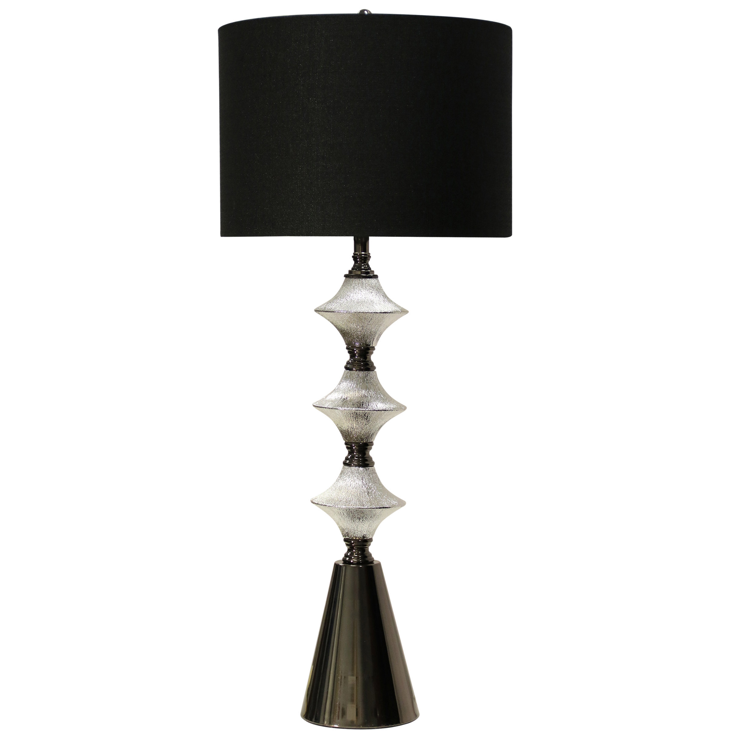 table chrome lamps naples zoom lamp