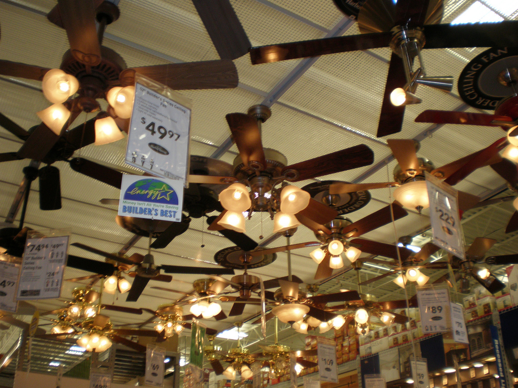 Do ceiling fans really cut energy costs lighting decor mag ceiling fans arubaitofo Image collections