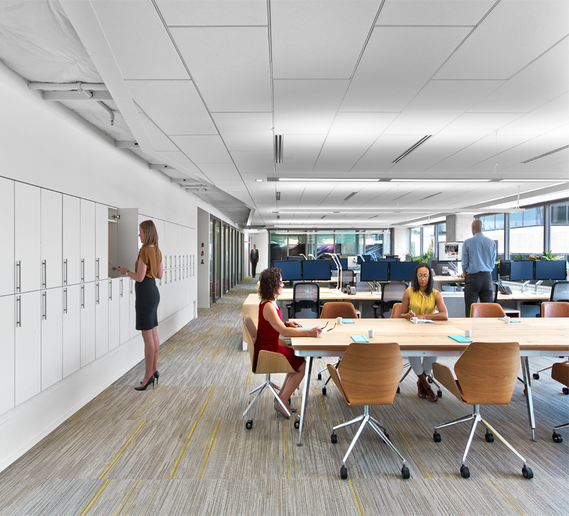 Asid unveils its leed platinum ranking hq lighting for Interior design society