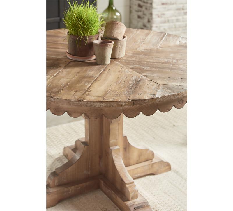 Magnolia Home Top Tier Pedestal Table