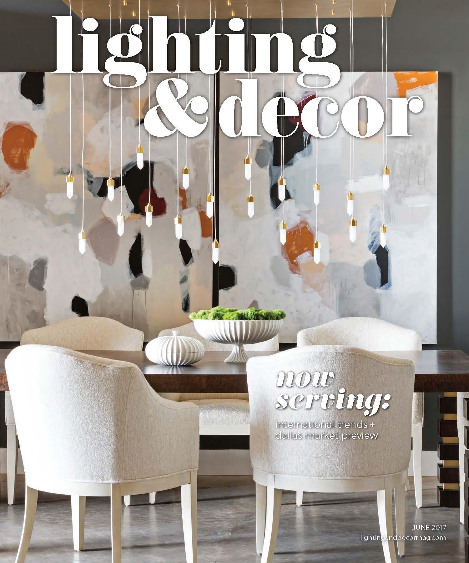 June 2017 Lighting & Decor