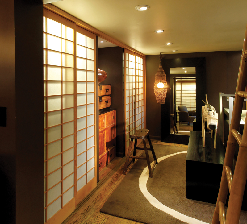 You can create additional ambient light for a bedroom if closet doors are translucent such as these shoji panels. (Photo Dennis Anderson Photography) & Whatu0027s the Most Effective Way to Illuminate a Closet?   Lighting ... pezcame.com