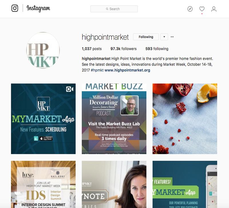Instagram-tips-for-High-Point-Market
