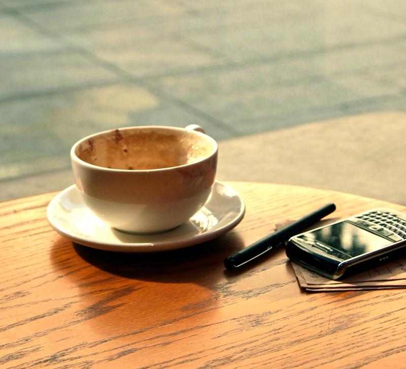 Cup of coffee representative of coffee shops near AmericasMart Atlanta