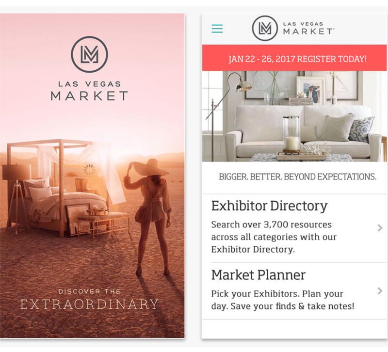 Las Vegas Market mobile app