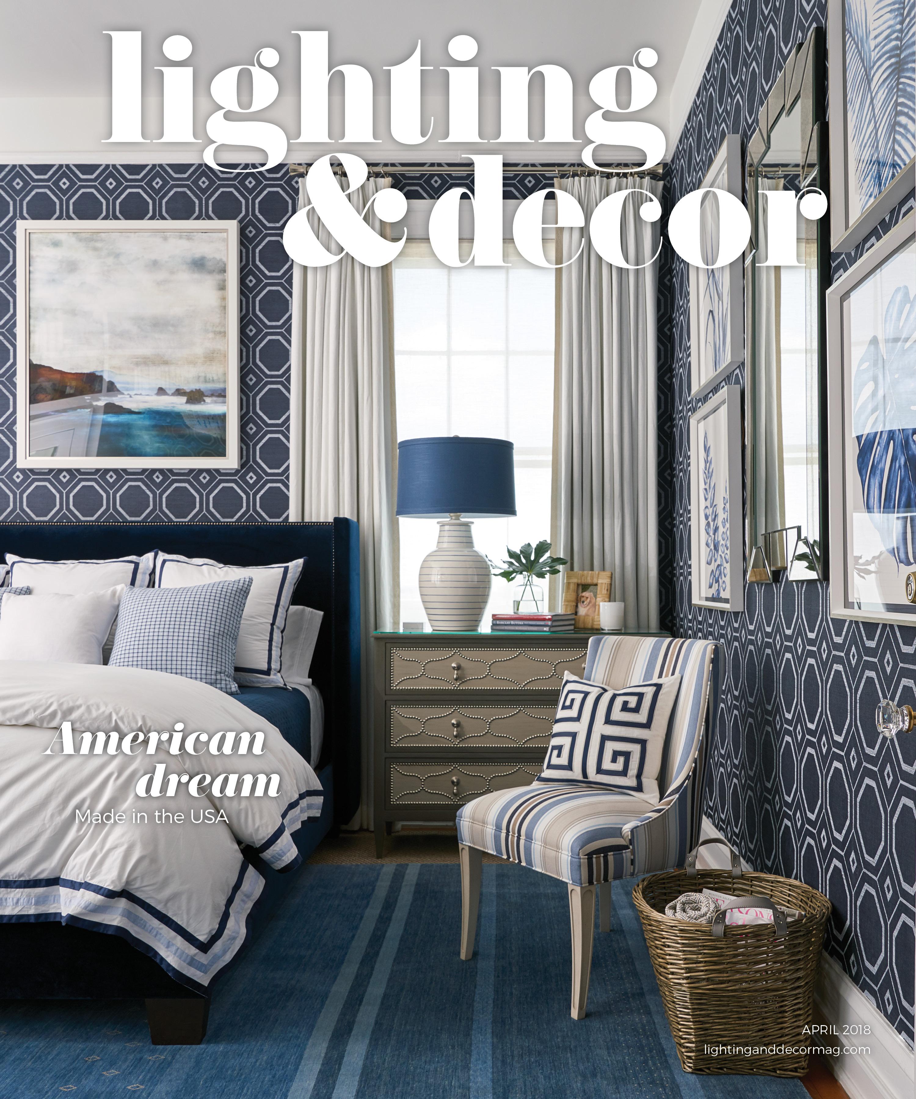 blue rug blue wallpaper blue bedroom