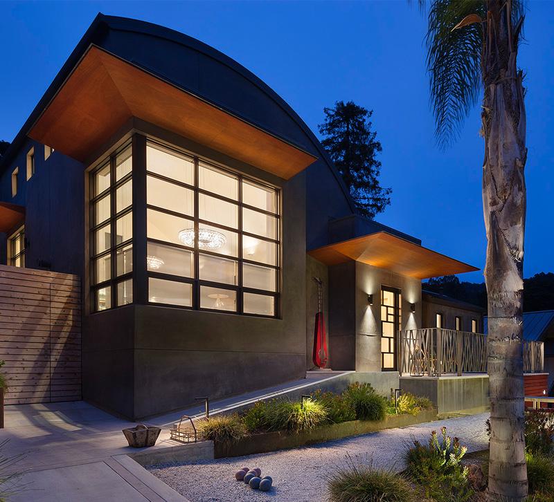 outdoor lighting ideas house facade - Exterior Lighting Design Decor