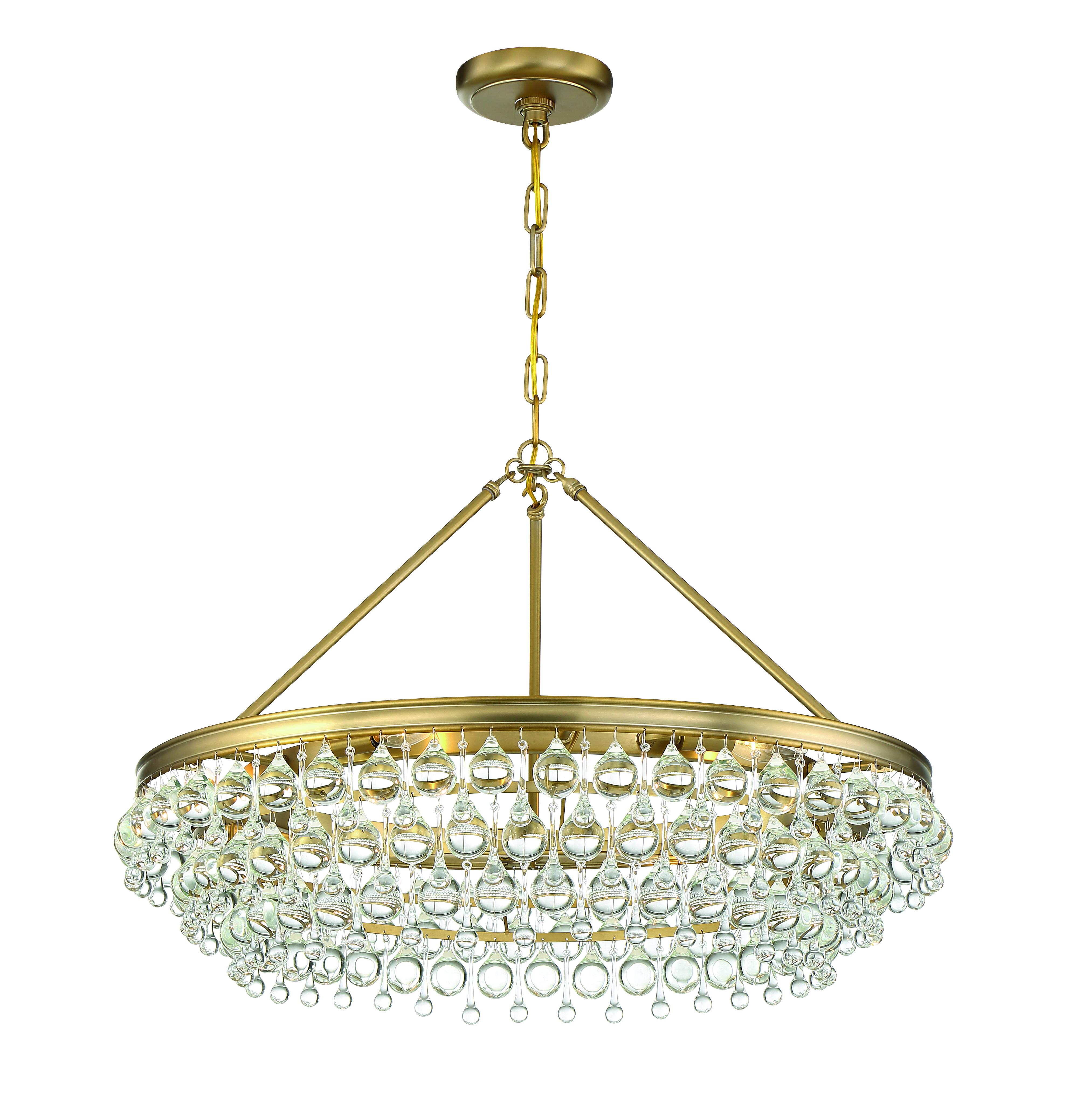 Crystorama Calypso Collection chandelier