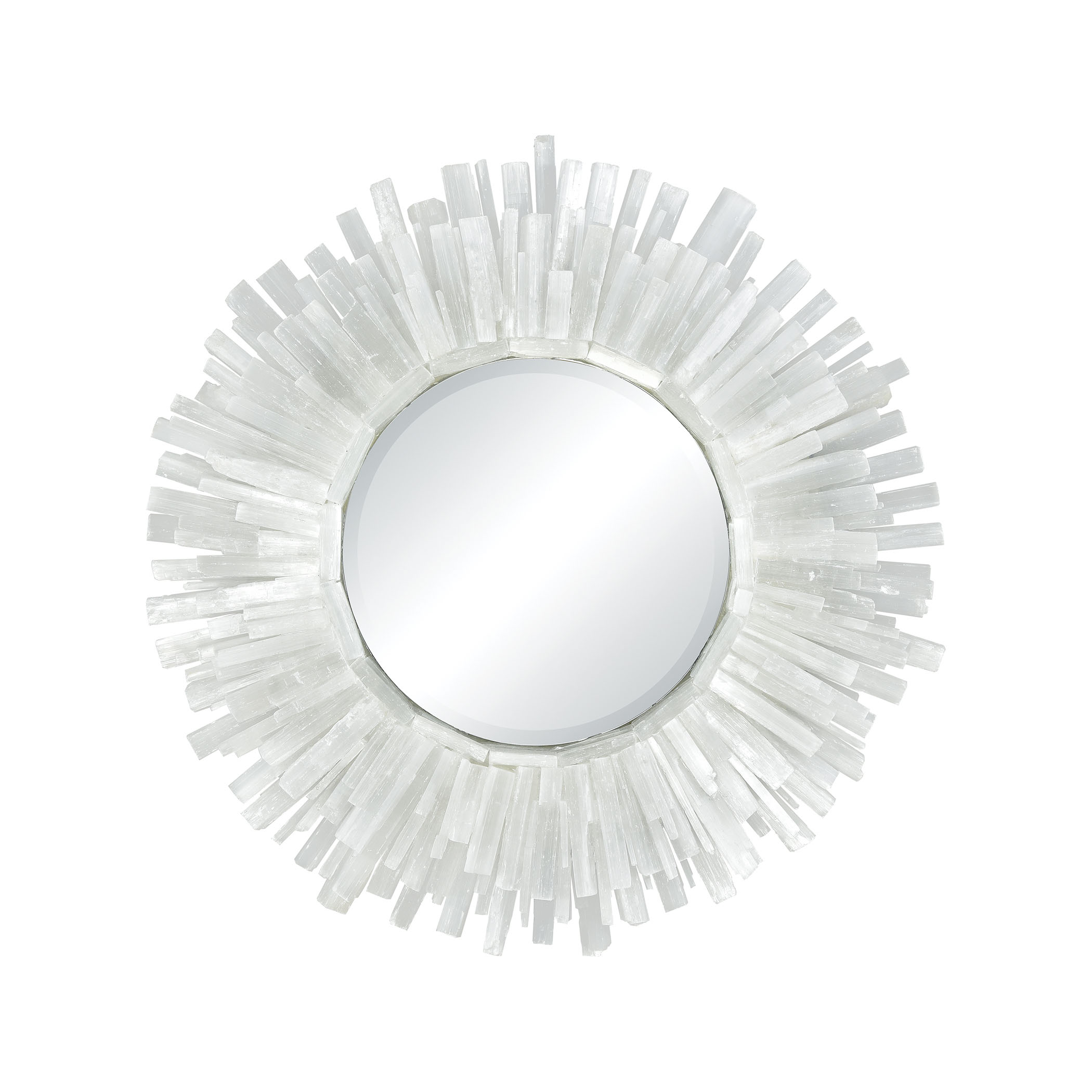 Mirror with crystals along the edges from Dimond Home