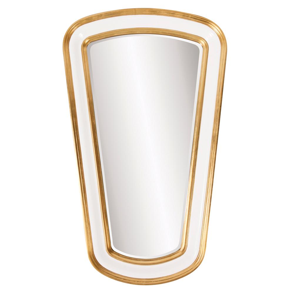 Darius mirror in a Gold Leaf finish from Howard Elliott