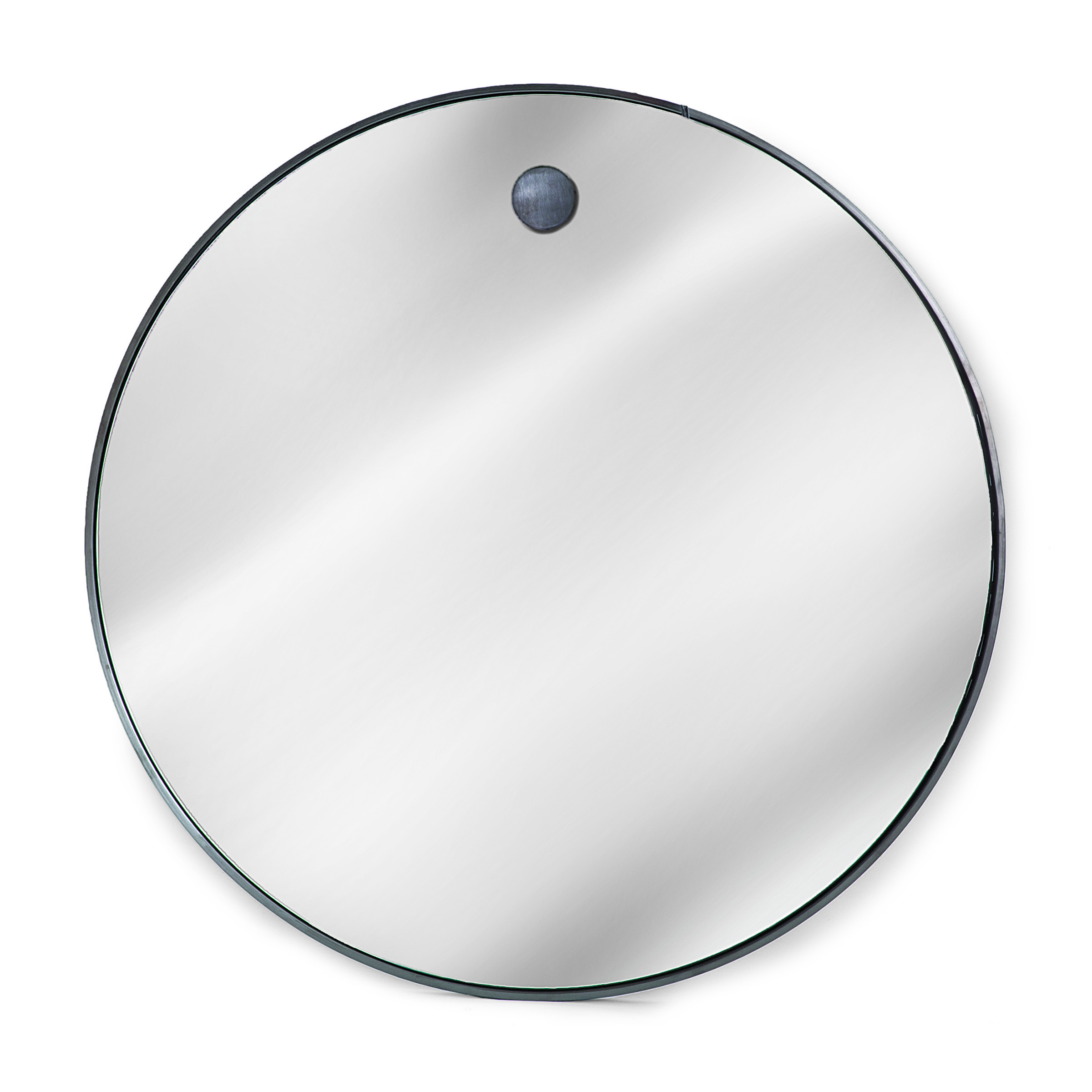 Hanging circular mirror from Regina Andrew Design