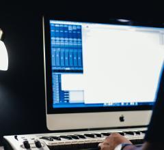 bright computer screen