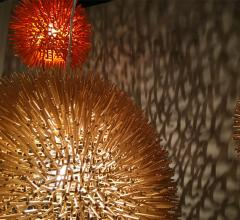Spiky-orb-pendant-light-play