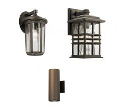 3 outdoor lighting fixtures from Kichler Lighting
