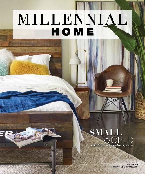 Millennial home august 2017 lighting decor mag for Style at home august 2017